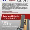 Q-tron Audio meets horn-kultur am 10.11.18
