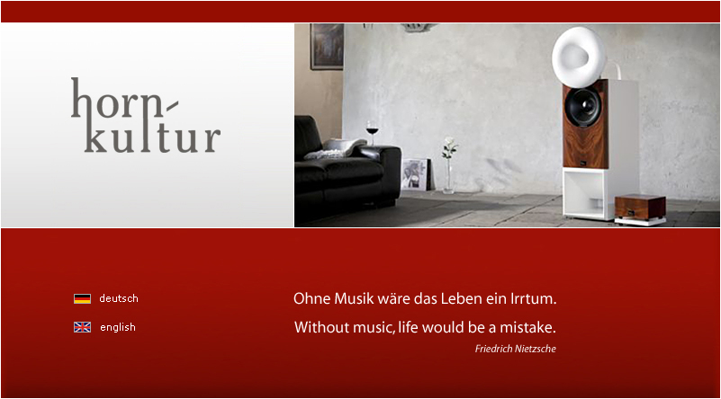 I >> horn-kultur.de - Hornlautsprecher jenseits des Mainstreams